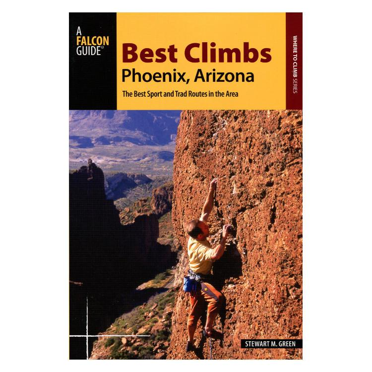 Best Climbs: Phoenix Arizona climbing guidebook, front cover