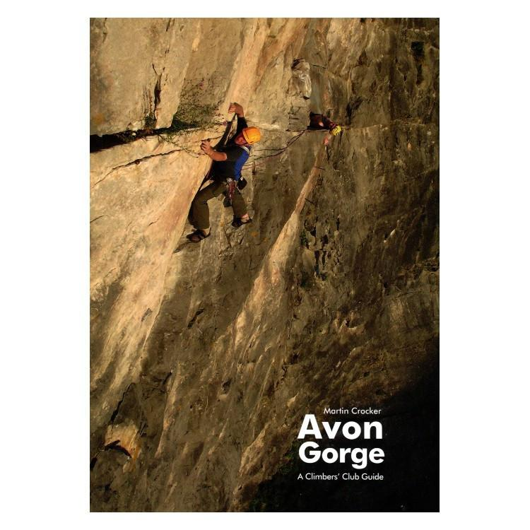 Avon Gorge climbing guidebook, front cover