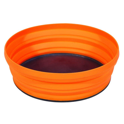 Sea to Summit X-Bowl for camping, in orange