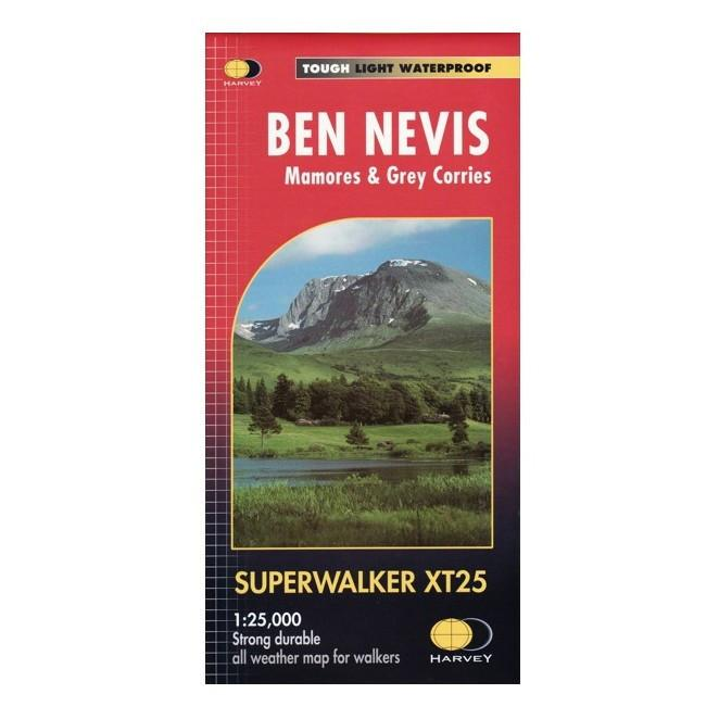 Harvey walking Maps Ben Nevis
