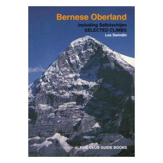 Bernese Oberland climbing guidebook, front cover