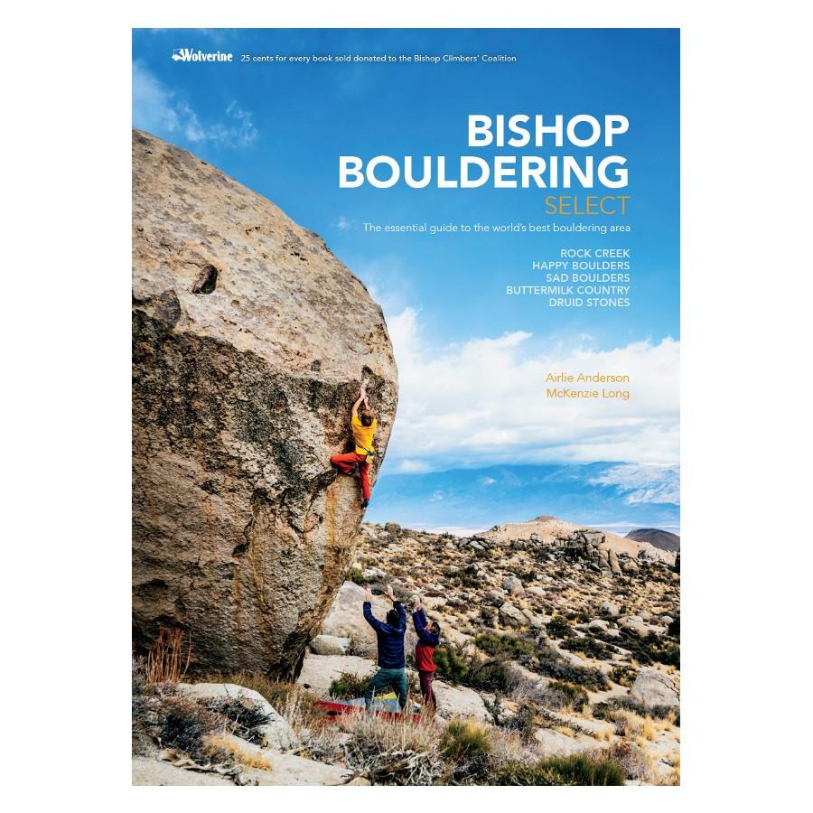 Bishop Bouldering Select guidebook, front cover