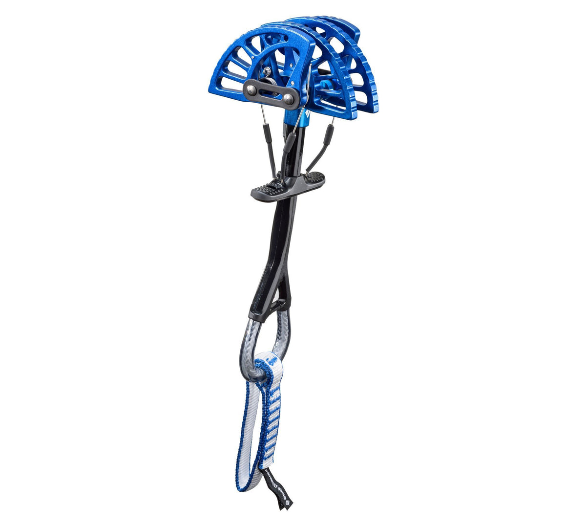Black Diamond Camalot Ultralight climbing cam, Size 3 in blue colour
