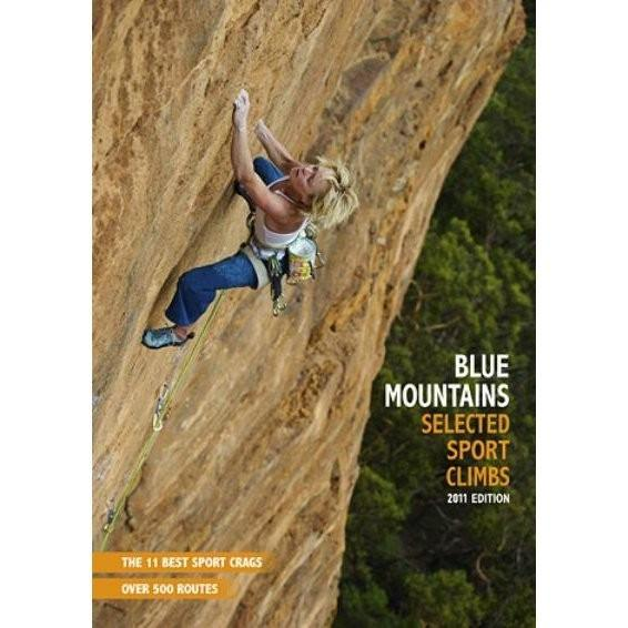 Blue Mountains Selected Sport Climbs guidebook, front cover