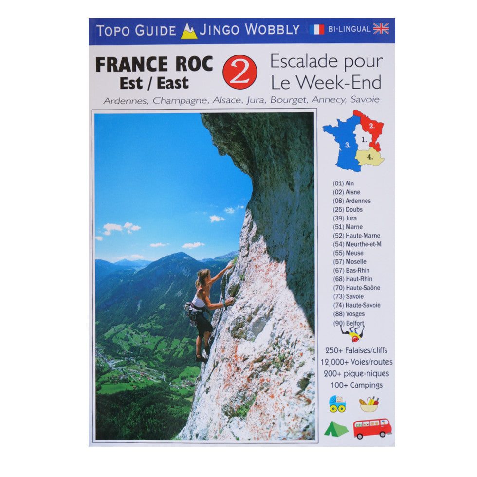 Escalade Pour le Weekend 2 France Est Front Cover