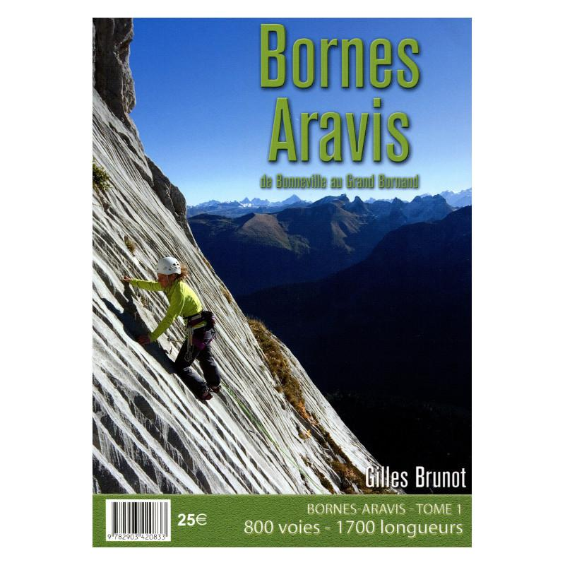 Bornes Aravis Rock Climbs guidebook, front cover