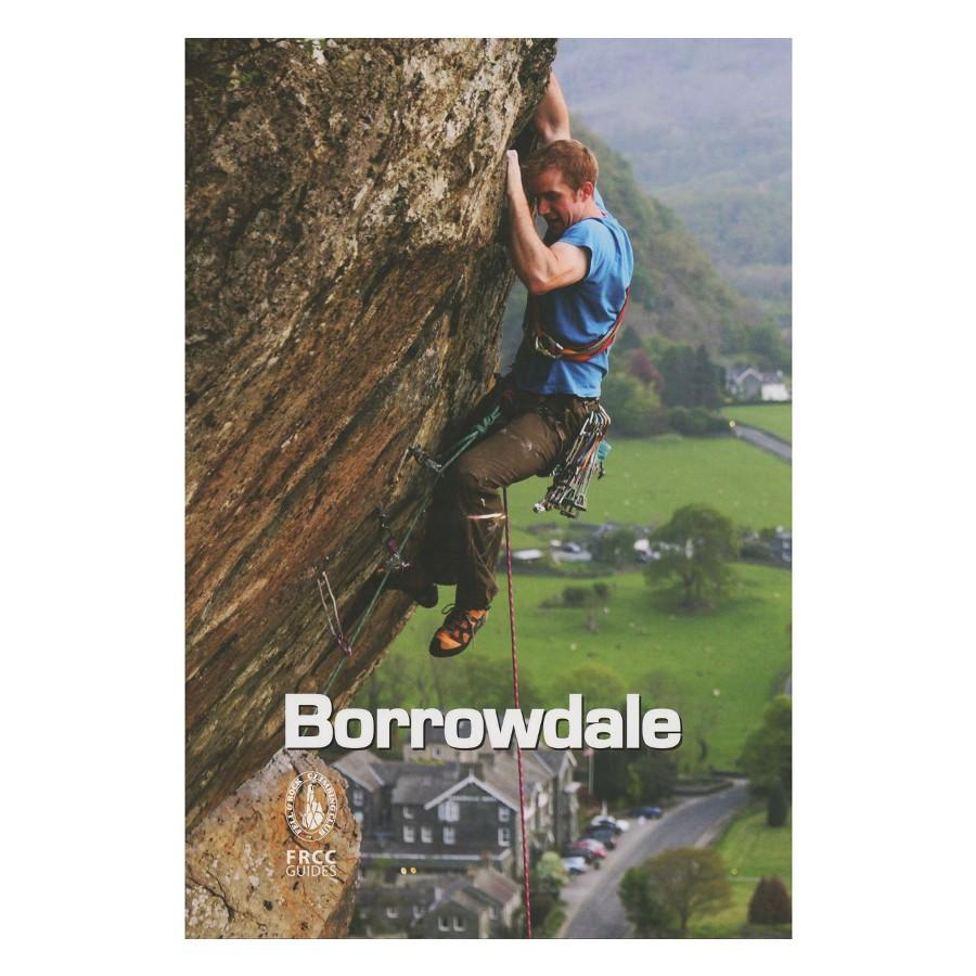FRCC Borrowdale climbing guidebook, showing the front cover