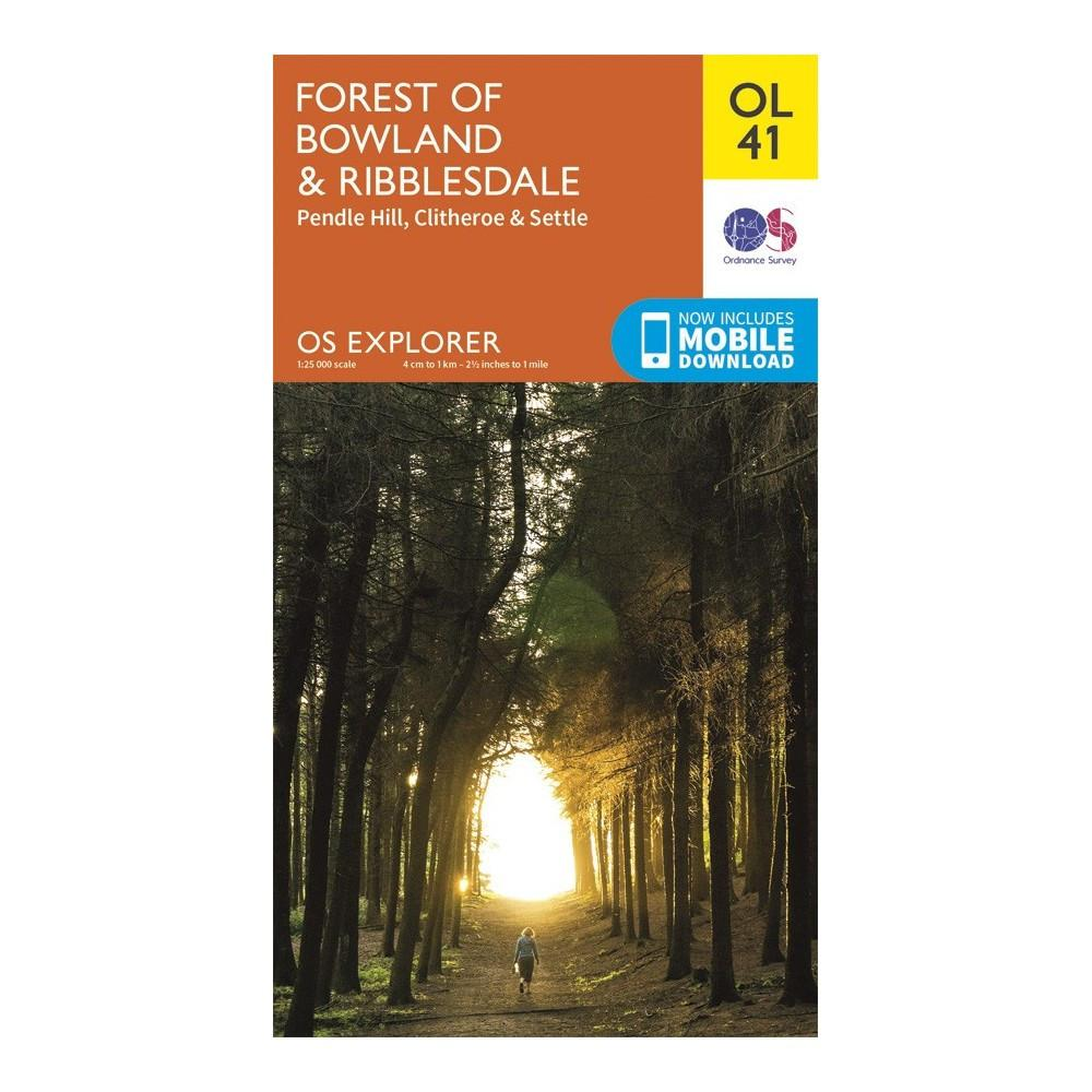 Forest of Bowland and Ribblesdale - OS Explorer Map OL41