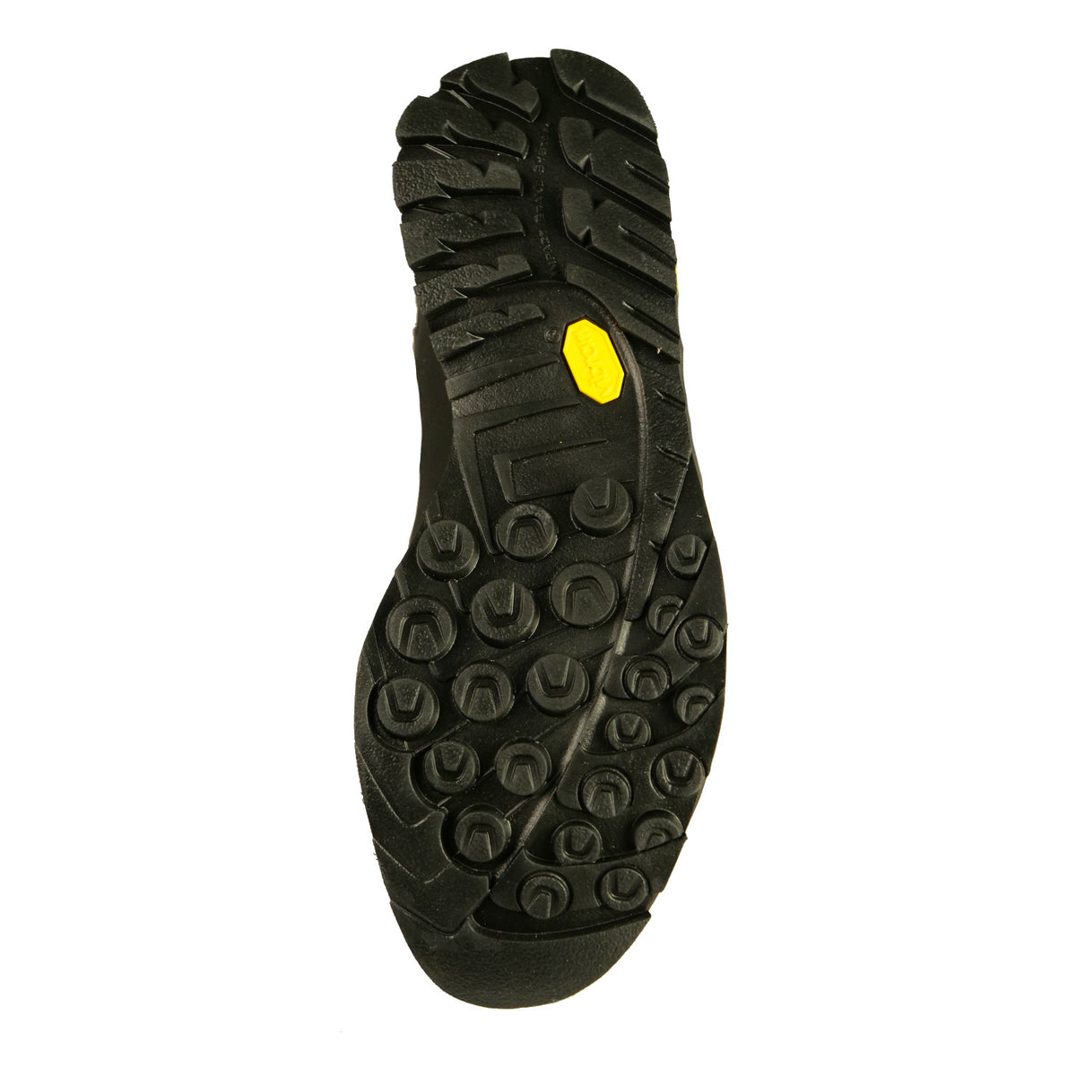 La Sportiva Boulder X approach shoe, view of the sole