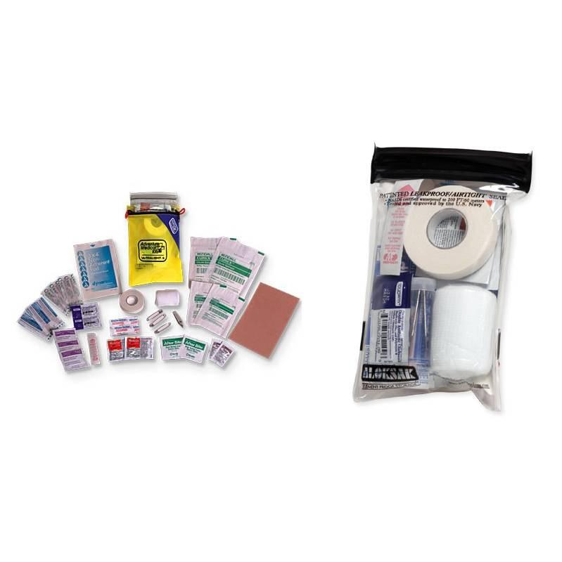 Adventure Medical Kits Ultralight and Watertight 5 showing included items