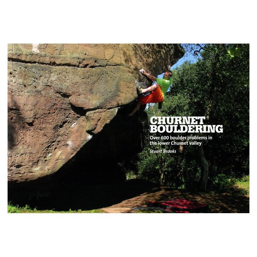 Churnet Bouldering guidebook, front cover