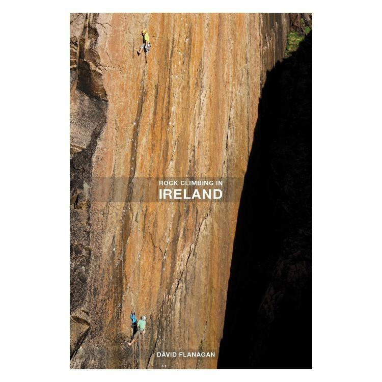 Rock Climbing in Ireland climbing guidebook, front cover