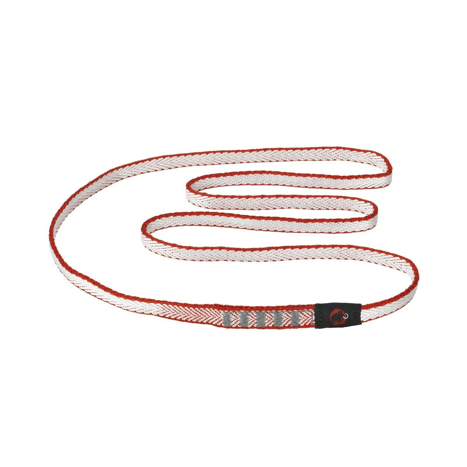Mammut Contact Dyneema climbing sling 8mm x 60cm, in red colour
