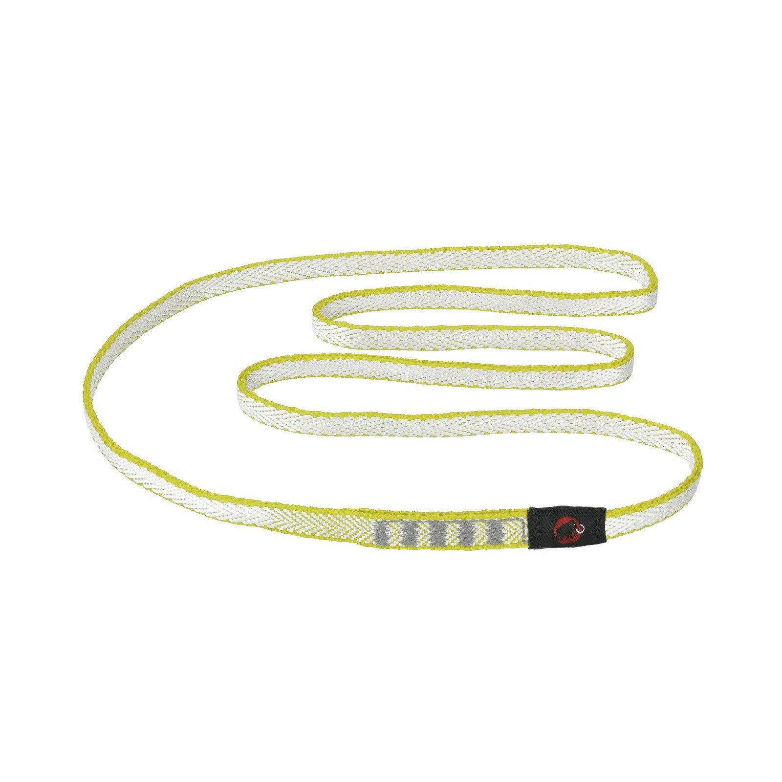Mammut Contact Dyneema climbing sling 8mm x 180cm, in yellow colour