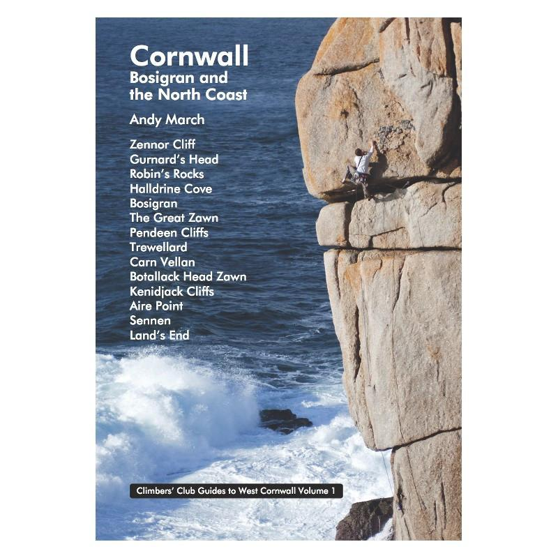 Cornwall: Bosigran and the North Coast climbing guidebook, front cover