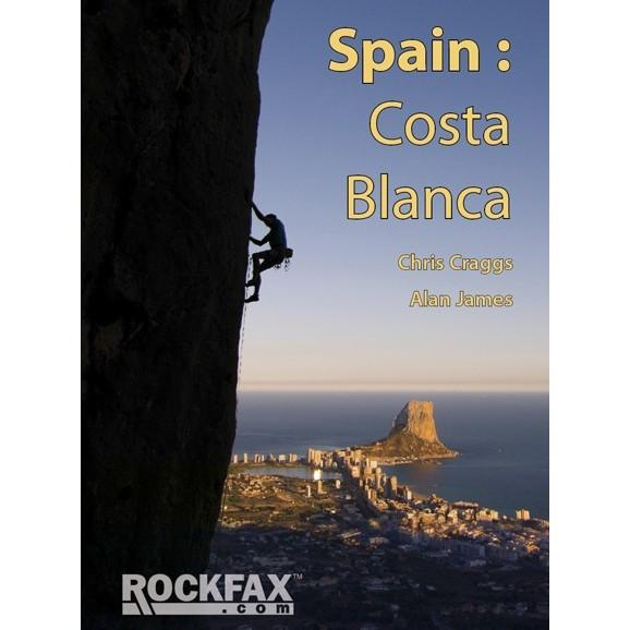Spain: Costa Blanca climbing guidebook, front cover