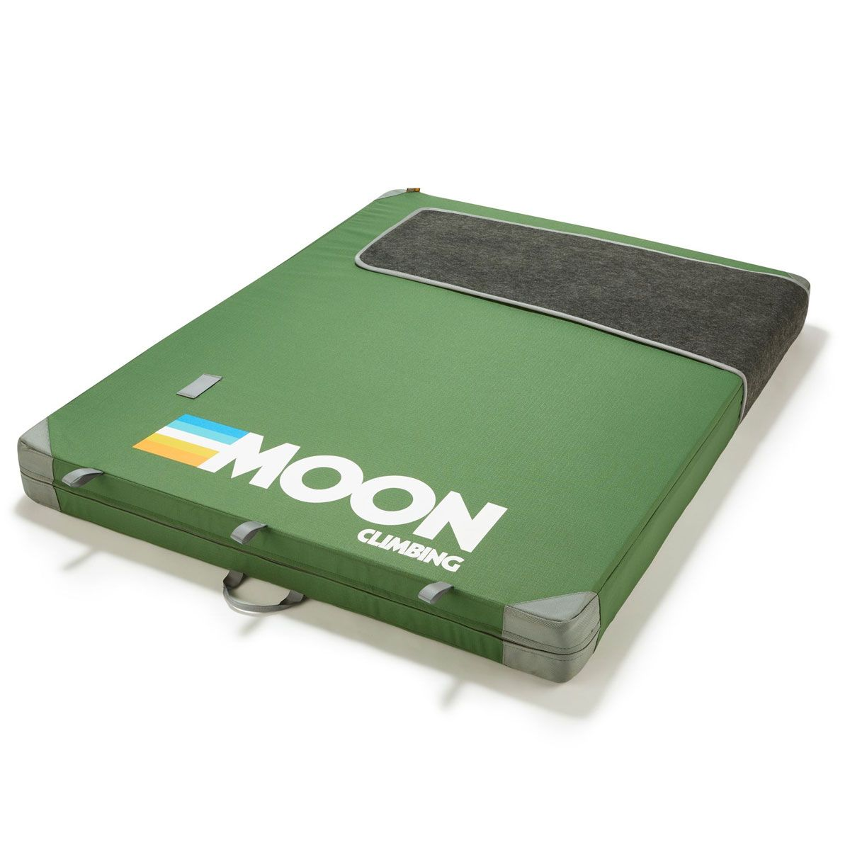 Moon Warrior in Green showing Retro LOGO