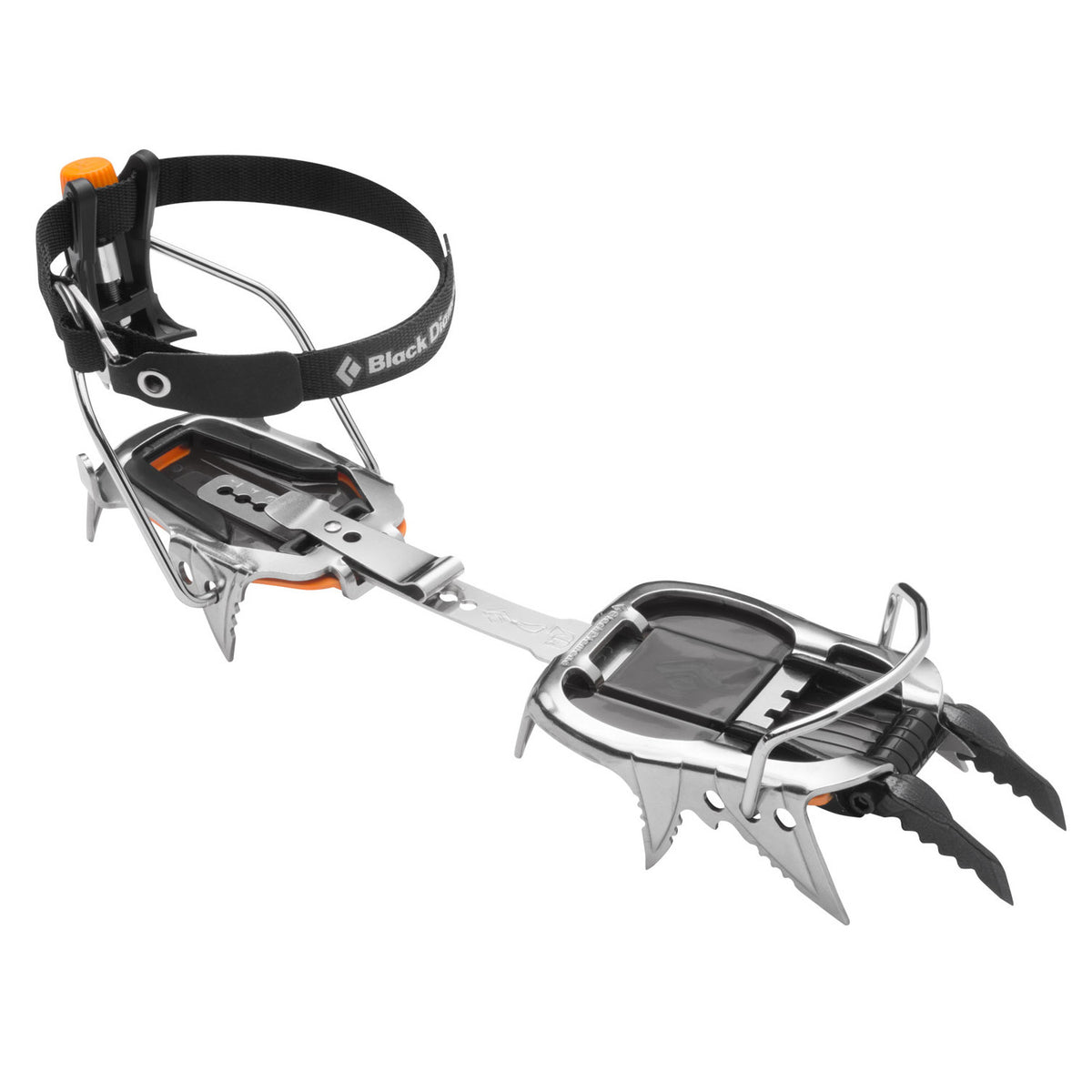 Black Diamond Cyborg Pro Crampon, front side view