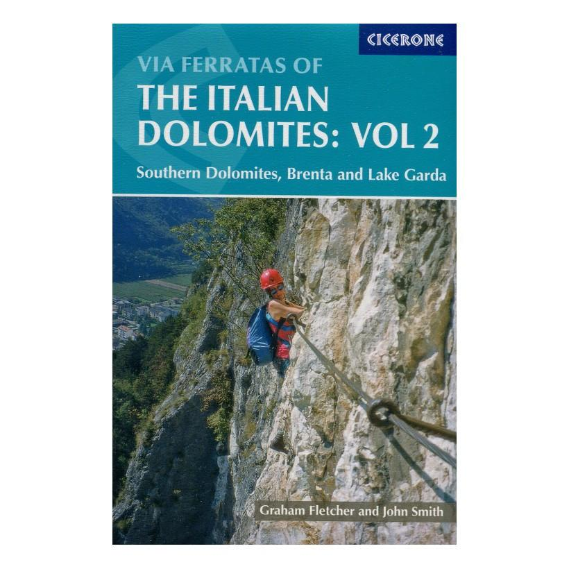 Via Ferratas of the Italian Dolomites Vol 2 guidebook, front cover