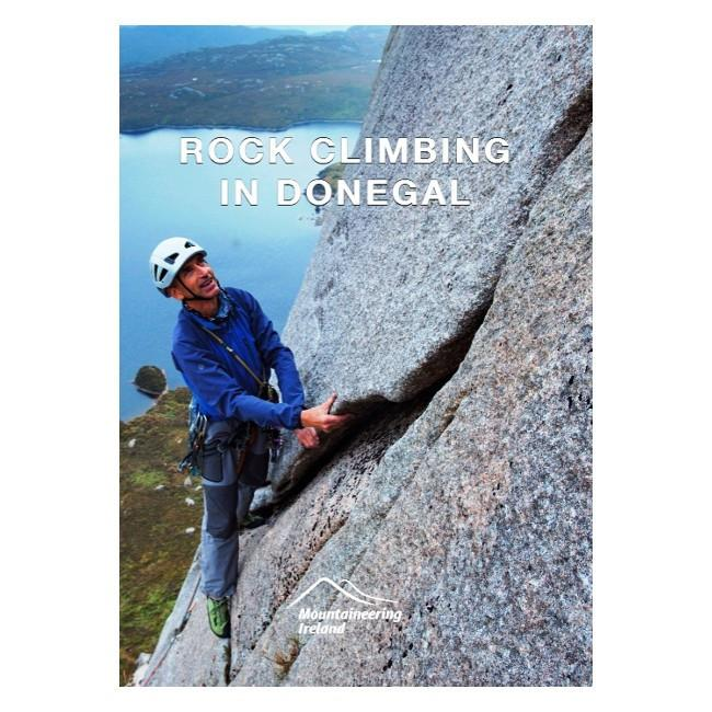 Rock Climbing in Donegal guidebook, front cover