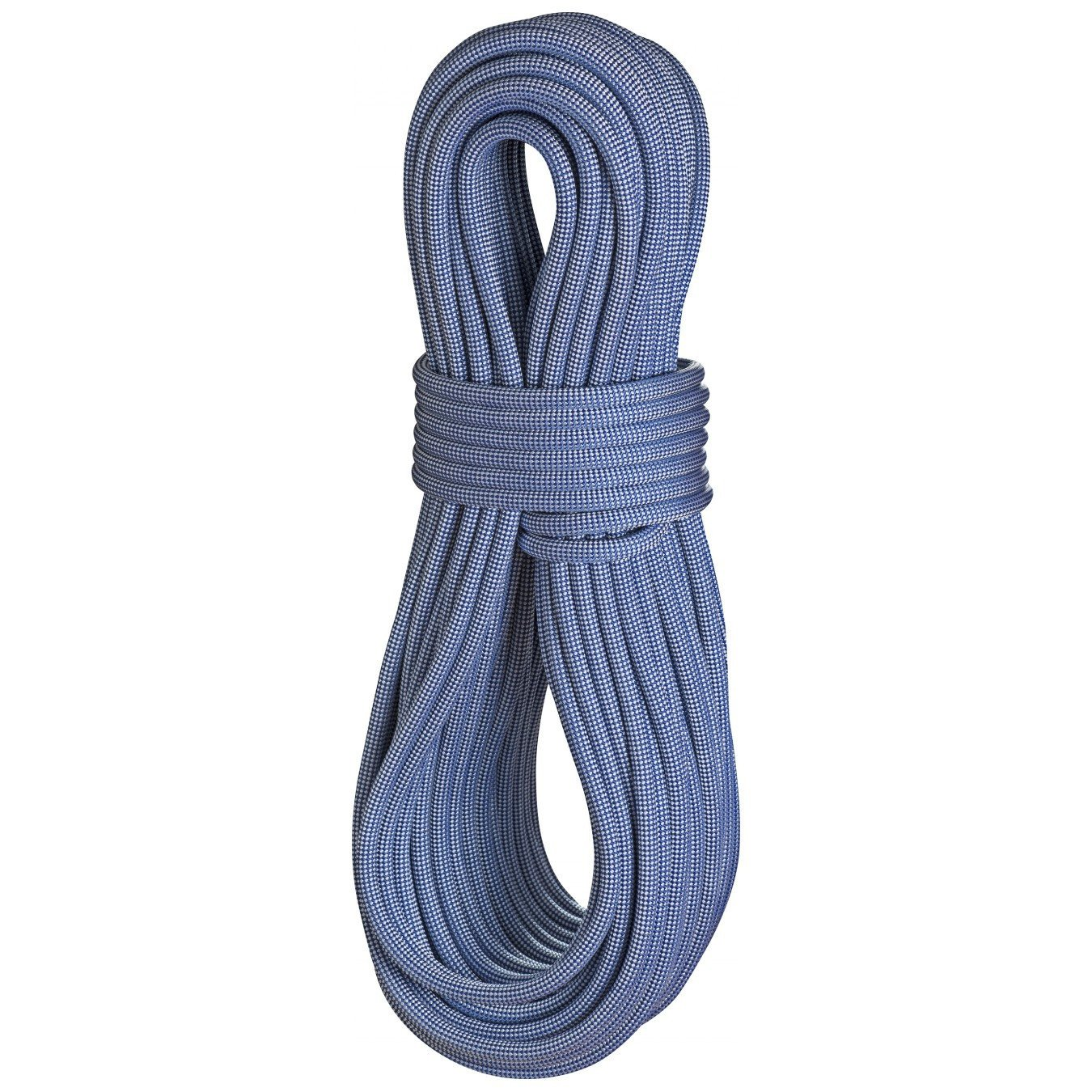 Edelrid Eagle Lite 9.5mm x 70m (Polar) climbing rope, shown in blue colour