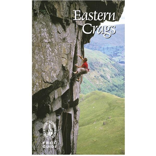 FRCC Eastern Crags climbing guidebook, front cover