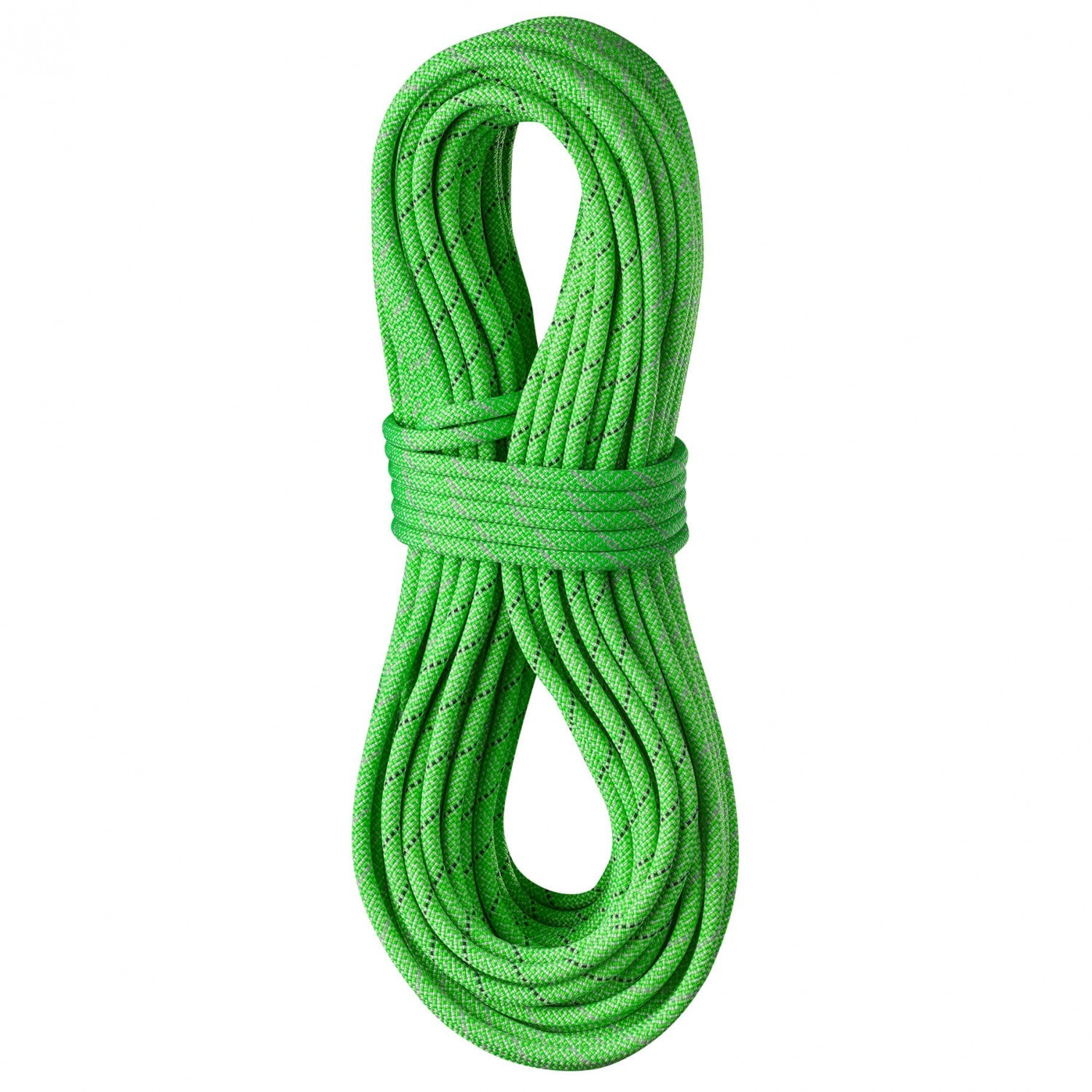 Edelrid Tommy Caldwell Pro Dry DT 9.6mm x 70m climbing rope, in Green colour