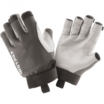 Pair of Edelrid Work Gloves Open showing front and back sides