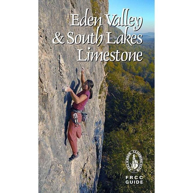 FRCC Eden Valley and South Lakes Limestone climbing guidebook, front cover