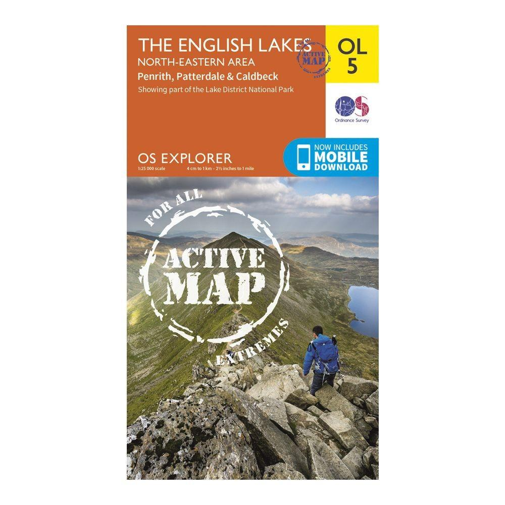 The English Lake District NE Area - OS Explorer Map OL5 Active