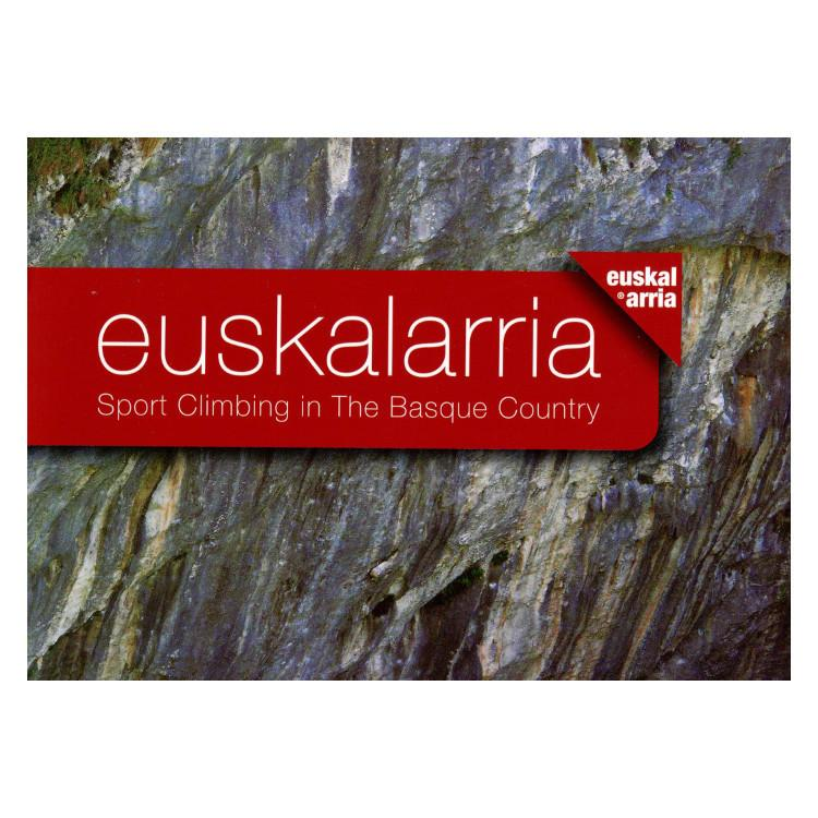 Sport Climbing in the Basque Country guidebook, front cover