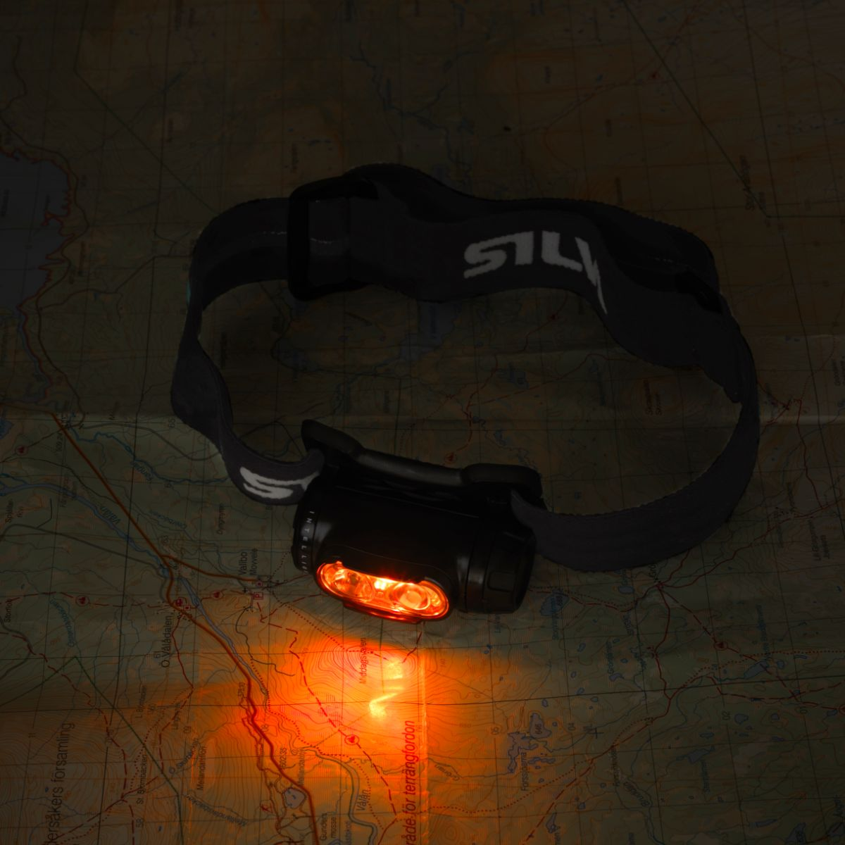 Silva Explore 4RC headtorch chart