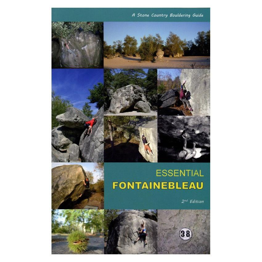 Essential Fontainebleau bouldering guidebook, front cover
