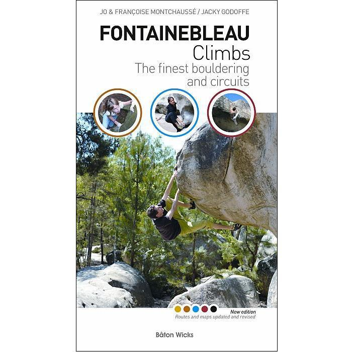 Fontainebleau Climbs bouldering guidebook, front cover