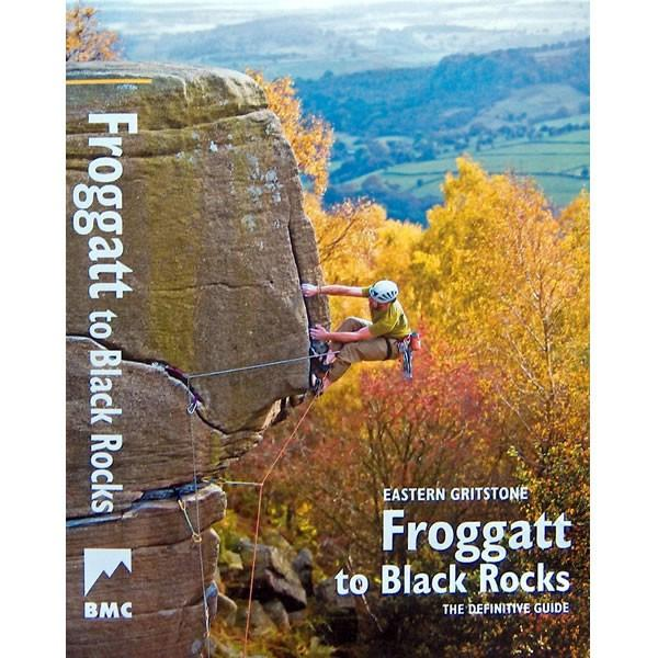 Froggatt to Black Rocks climbing guidebook, front cover
