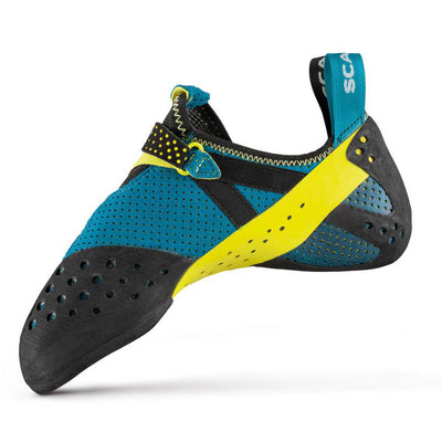 Scarpa Furia Air climbing shoe, inner side view