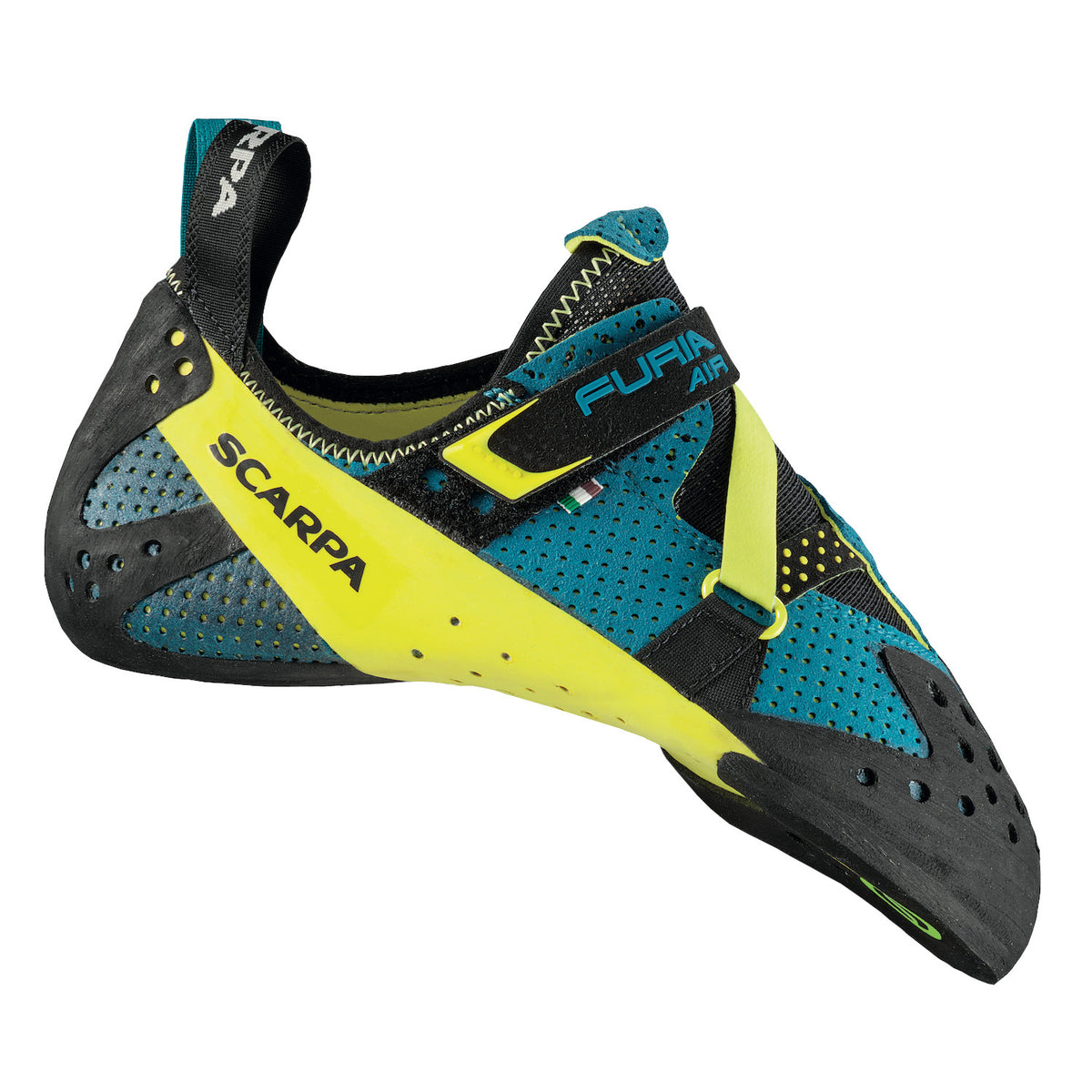 Scarpa Furia Air climbing shoes, outer side view