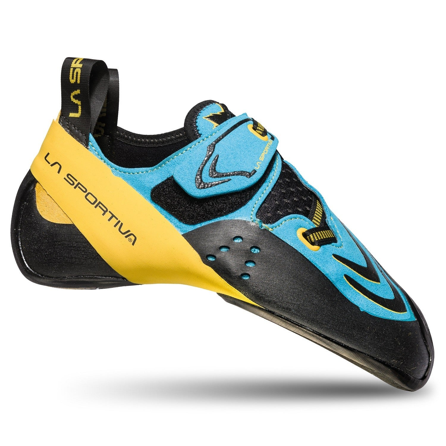 La Sportiva Futura in Blue & Yellow