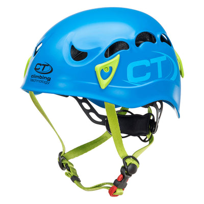 Climbing Technology Galaxy climbing helmet, in blue and green colours