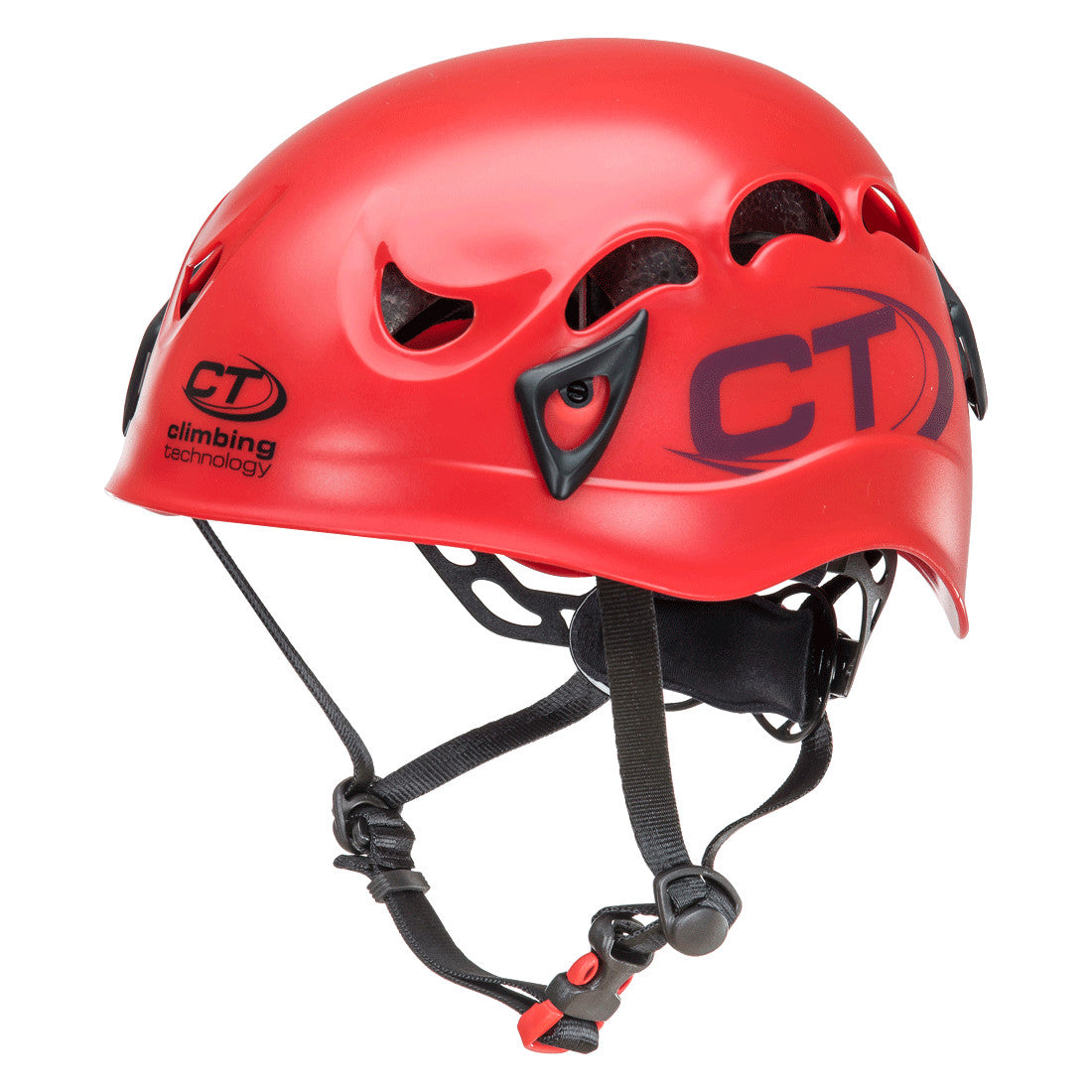 Climbing Technology Galaxy climbing helmet, in red colour