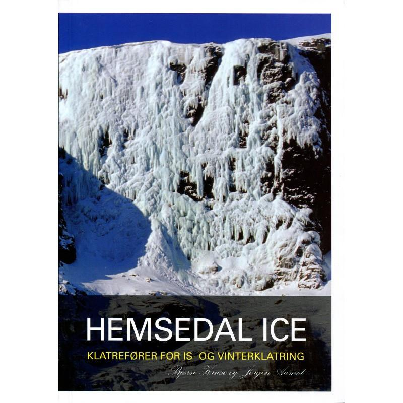 Hemsedal Ice climbing guidebook, front cover