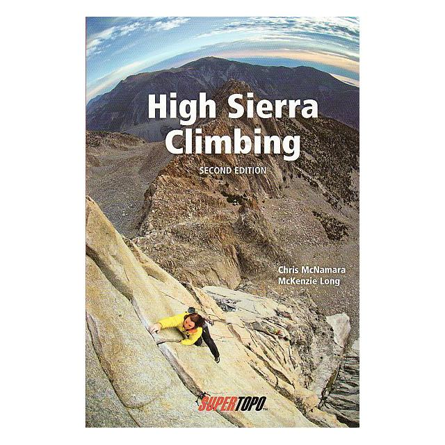 High Sierra Climbing guidebook, front cover