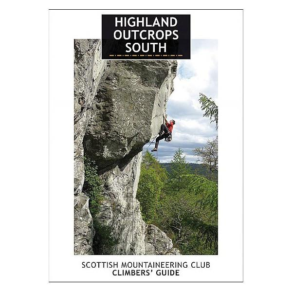 Highland Outcrops South climbing guidebook, front cover