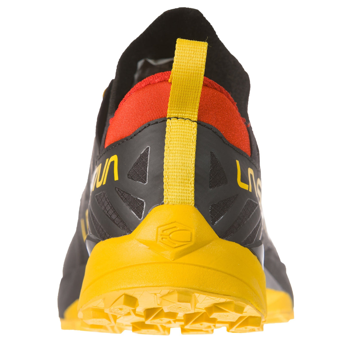 La Sportiva Kaptiva trail shoe, view of the heel