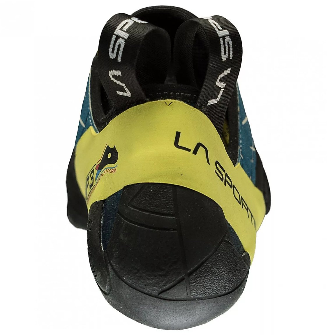 La Sportiva Kataki climbing shoe, view of the heel