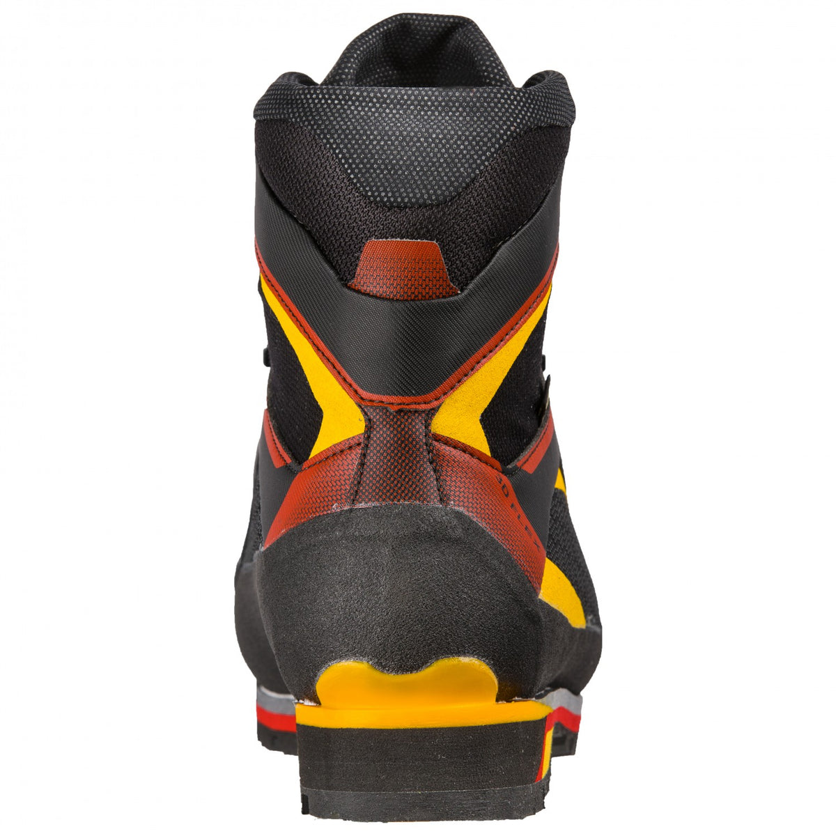 La Sportiva Trango Tower Extreme GTX mountaineering boot, view from behind of the heel