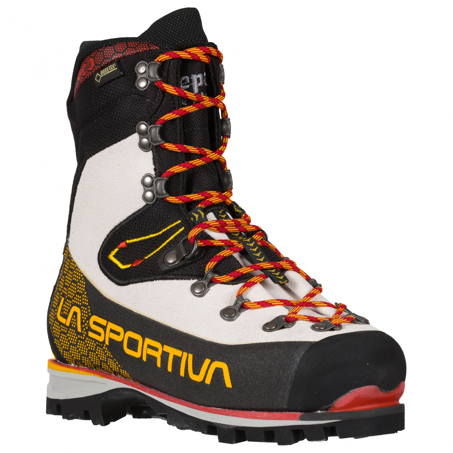 La Sportiva Nepal Cube GTX Womens mountaineering boot, front/side view