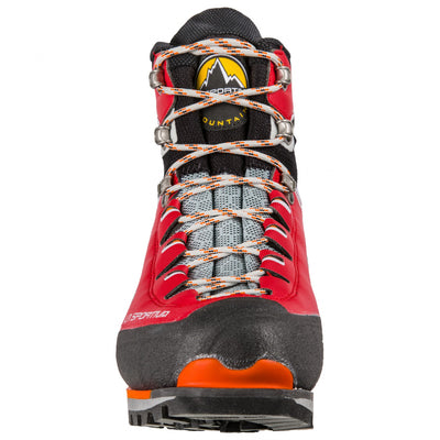 La Sportiva Trango Tower Extreme GTX Womens mountaineering boot, front view showing laces
