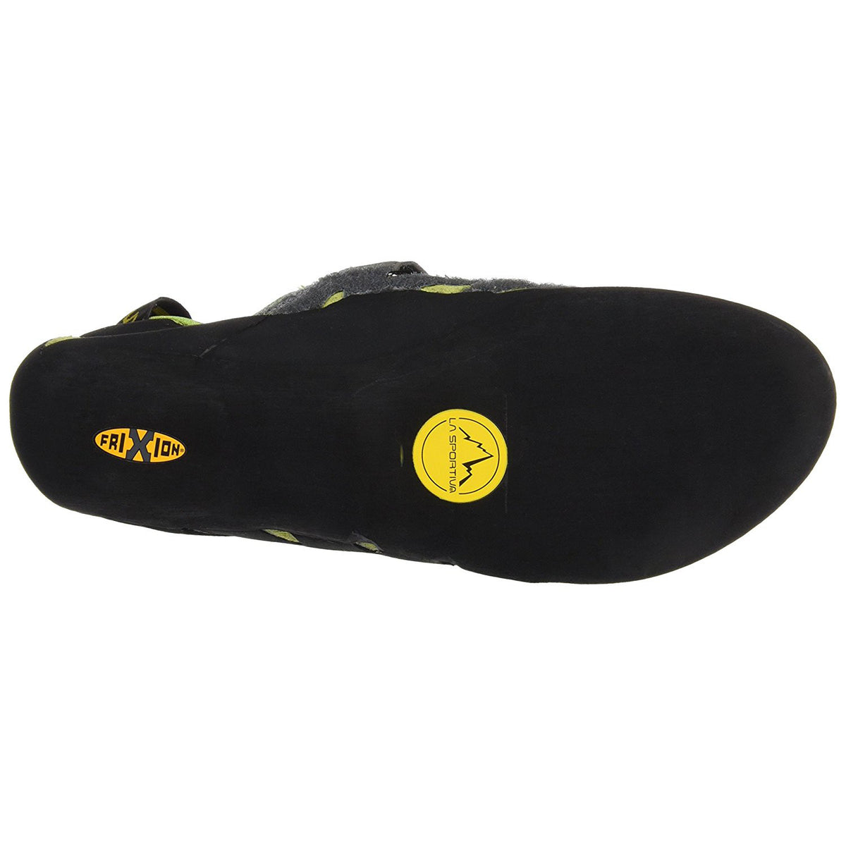 La Sportiva Tarantula climbing shoe, view of the sole