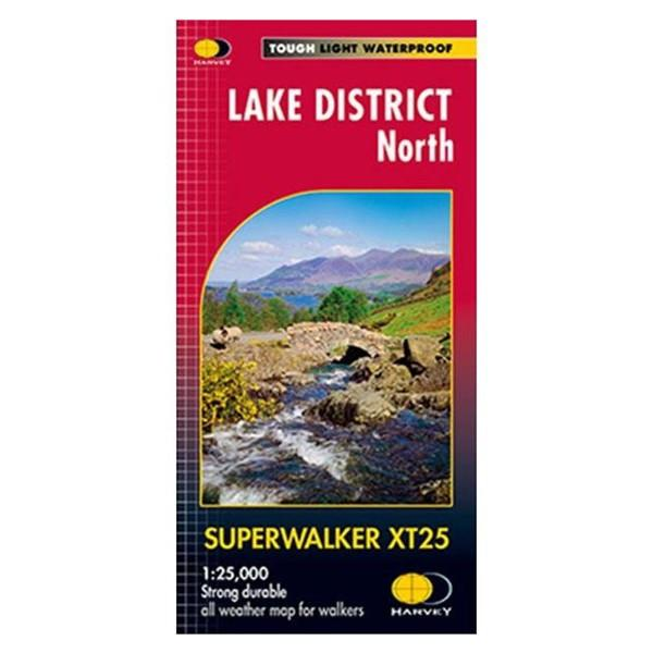Harvey Maps Lake District North